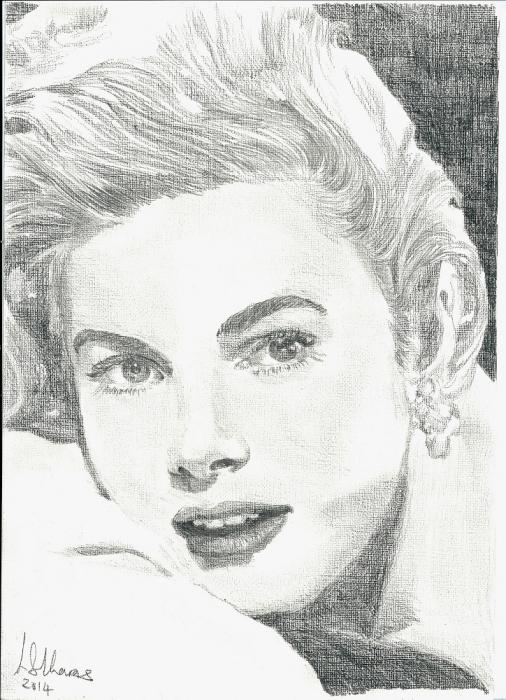 Grace Kelly por Lindasart